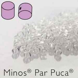Minos® par Puca® : MNS253-00030 - Crystal - 4 Grams - Approx 90-95 Beads