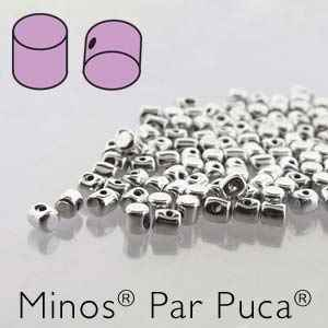 Minos® par Puca® : MNS253-00030-27000 - Argentees - 4 Grams - Approx 90-95 Beads
