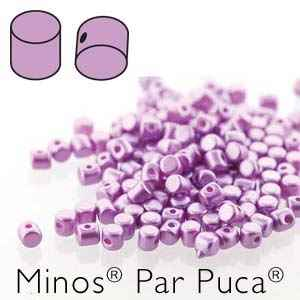 Minos® par Puca® : MNS253-02010-25012 - Pastel Lilac - 4 Grams - Approx 90-95 Beads