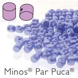 Minos® par Puca® : MNS253-02010-25014 - Pastel Light Sapphire - 4 Grams - Approx 90-95 Beads