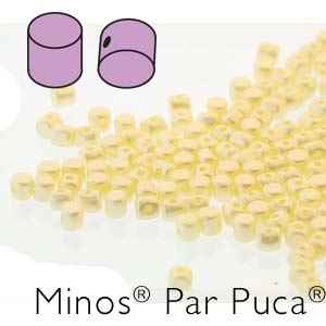 Minos® par Puca® : MNS253-02010-25039 - Pastel Cream - 4 Grams - Approx 90-95 Beads