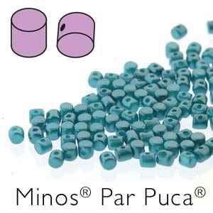 Minos® par Puca® : MNS253-02010-25043 - Pastel Emerald - 4 Grams - Approx 90-95 Beads