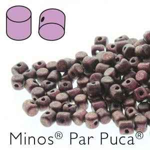 Minos par Puca : MNS253-23980-94108 - Metallic Dark Violet - 4 Grams - Approx 95-100 Beads