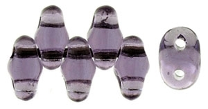 MiniDuo-2050 - MiniDuo 2/4mm : Lt. Tanzanite - 25 Count