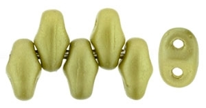 MiniDuo-25021 - MiniDuo 2x4mm : Pearl Coat Chartreuse - 25 Count