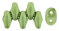 MiniDuo-25034 - MiniDuo 2/4mm : Pearl Coat - Olive - 25 Count
