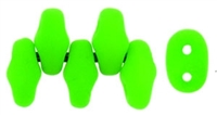 MiniDuo-25124 - MiniDuo 2/4mm : Neon Green - 25 Count