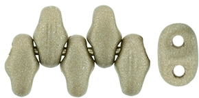 MiniDuo-29416 - MiniDuo 2x4mm : Satin Metallic Khaki - 25 Count