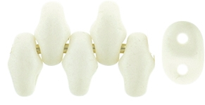 MiniDuo-29571 - MiniDuo 2x4mm : Saturated White - 25 Count
