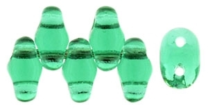 MiniDuo-5072 - MiniDuo 2/4mm : Emerald - 25 Count