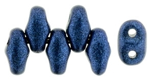 MiniDuo-79031 - MiniDuo 2/4mm : Metallic Suede - Blue - 25 Count