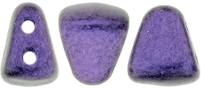 NIB-BIT-79021 - NIB-BIT 6/5mm : Metallic Suede - Purple - 25 Count