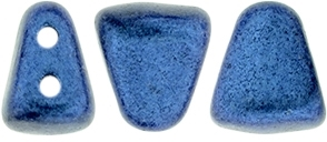 NIB-BIT-79031 - NIB-BIT 6/5mm : Metallic Suede - Blue - 25 Count