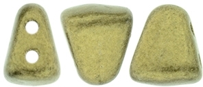 NIB-BIT-79080 - NIB-BIT 6/5mm : Metallic Suede - Gold - 25 Count