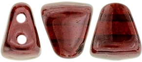 NIB-BIT-E9008 -  6/5mm : Siam Ruby - Vega - 25 Count