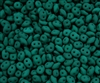 Dark Neon SuperDuo 2.5/5mm : 8 Grams - NSD-DNEM - Dark Neon Emerald