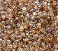Preciosa Pellet Beads 4x6mm - PE00030-23401 - Crystal Venus - 25 Beads
