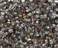 Preciosa Pellet Beads 4x6mm - PE00030-29942 - Crystal Volcano - 25 Beads