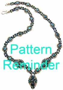 Deb Roberti's Babette Necklace & Earrings Pattern Reminder
