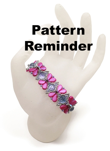 BeadSmith Exclusive Anthousai Bracelet Pattern Reminder