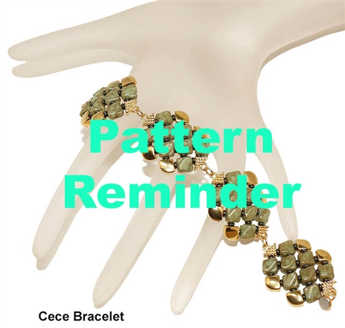 BeadSmith Exclusive Cece Bracelet Pattern Reminder