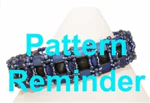 BeadSmith Exclusive Charlestone Pattern Reminder