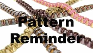 BeadSmith Exclusive Bracelet So Cute Pattern Reminder