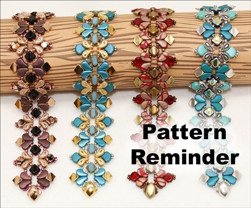 BeadSmith Exclusive Jubilee Bracelet Pattern Reminder