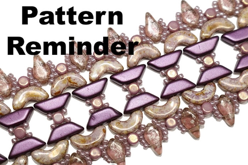 BeadSmith Exclusive K.A.T. Kuff Pattern Reminder