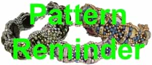 BeadSmith Exclusive Lunetta Pattern Reminder