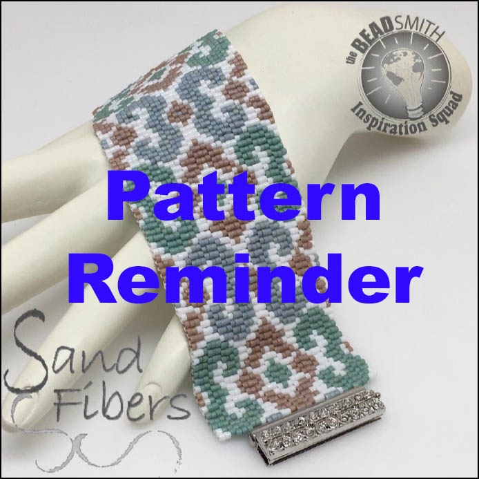 BeadSmith Exclusive Magic Carpet Bracelet Pattern Reminder