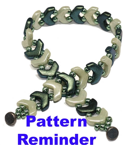 BeadSmith Exclusive One Way Bracelet Pattern Reminder