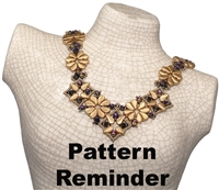 BeadSmith Exclusive Paisley Premier Necklace Pattern Reminder
