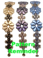 BeadSmith Exclusive Pretty Paisley Bracelet Pattern Reminder