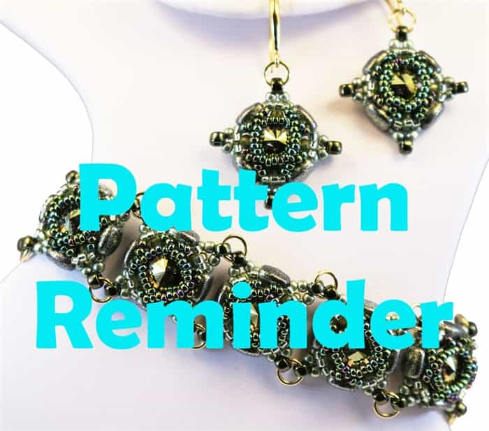 BeadSmith Exclusive Bead Rani Bracelet Pattern Reminder