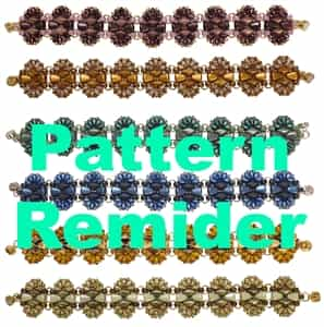 BeadSmith Exclusive Safari Bracelet Pattern Reminder