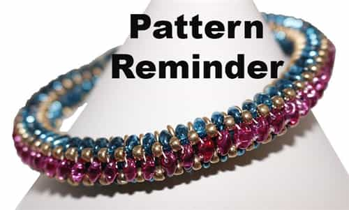 BeadSmith Exclusive SuperDuo Bangles Pattern Reminder