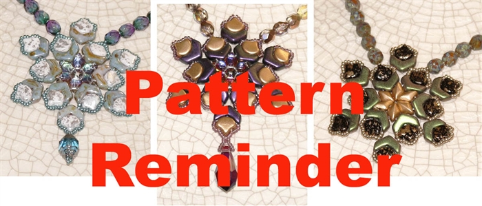 BeadSmith Exclusive Virupaksha Necklace & Earrings Pattern Reminder