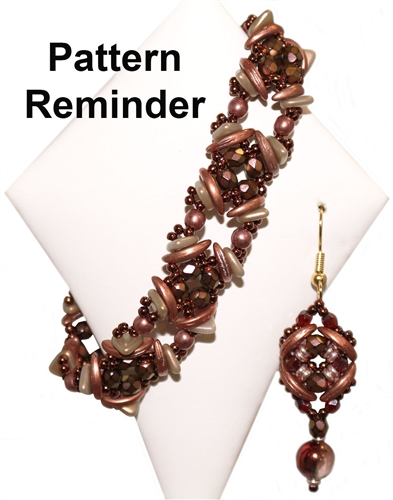 BeadedTreasury Stylish Earrings Pattern Reminder
