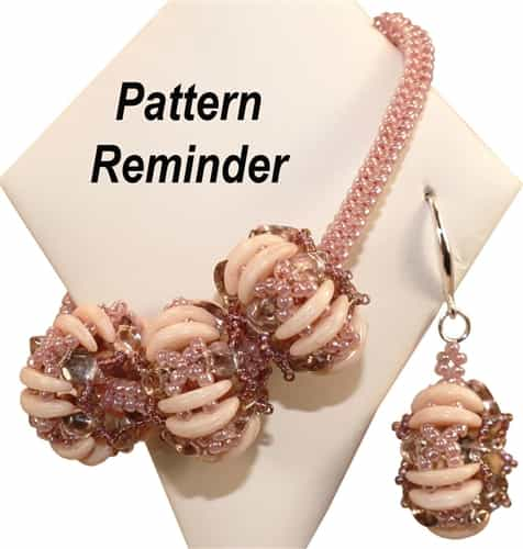 Bumblebead Crafts Poppy Seed Pod Pattern Reminder