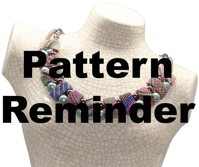 CarrierDuo Caterpillar Necklace Pattern Reminder