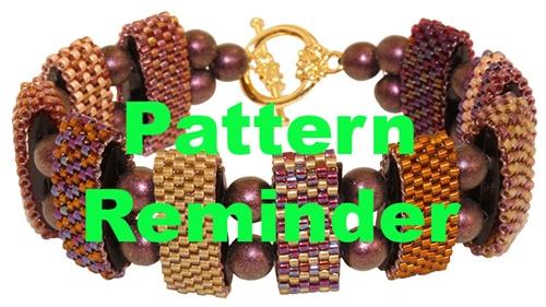 Carrier Duo Bracelet Pattern Reminder