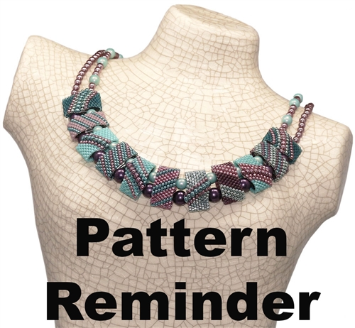 CarrierDuo Dragonfly Necklace Pattern Reminder