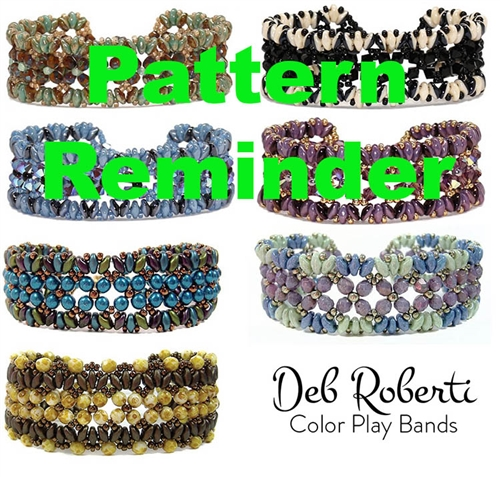 Deb Roberti's Color Play Bands Pattern Reminder