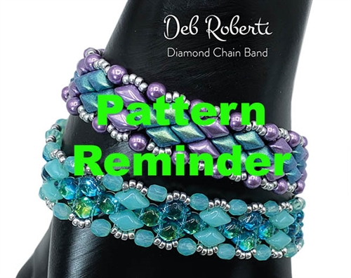 Deb Roberti's Diamond Chain Band Pattern Reminder