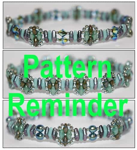 Deb Roberti's CzechMates Diamond Stackers Pattern Reminder