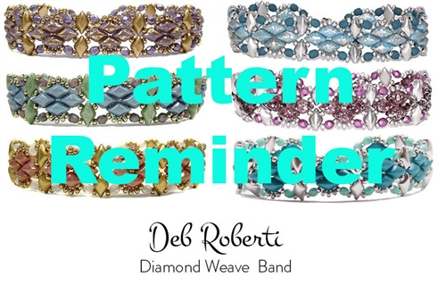 Deb Roberti's Diamond Weave Band Pattern Reminder
