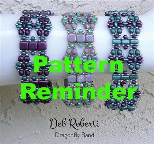 Deb Roberti's Dragonfly Band Pattern Reminder