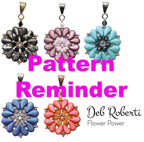Deb Roberti's Flower Power Pattern Reminder