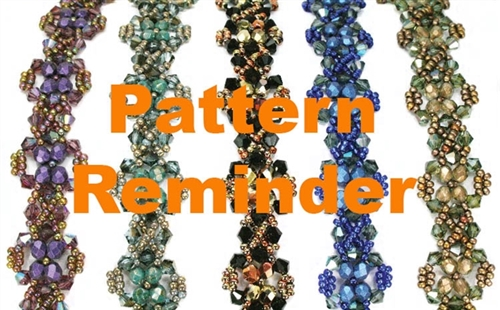Deb Roberti's Heirloom Bracelet & Earrings Reminder